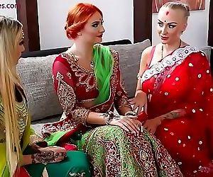 Pre-wedding Indian bride ceremony 9 min