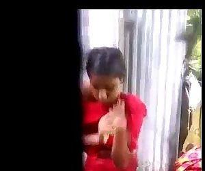 Desi village girl changing dres after shower - IndianHiddenCams.com - 1 min 10 sec