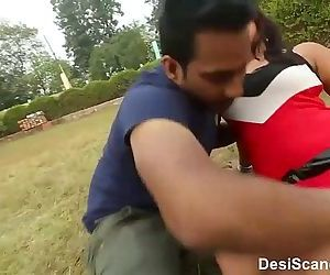 Young College Couple Enjoying at Park - 5 min
