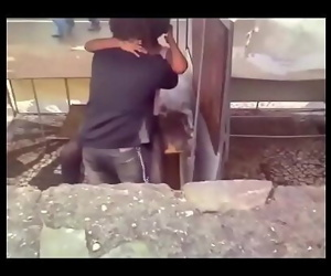 Desi couples fucking outdoor 2 min