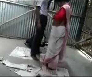 Desi college boy fucking a horny bhabhi in garage 24 min