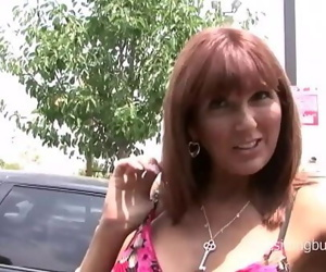 Horny mom picked up at the parking lot and fucked hard 31 min