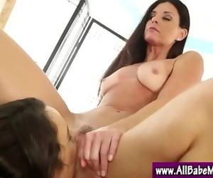 Massage babe lesbian pussy play 5 min 720p