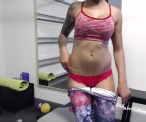 Workout Cum Countdown Jerk Off Instruction JOI - Alexis Zara