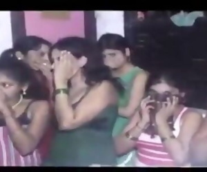LIVE : Indian College Girls Caught in Police Raid at Sex Parlor in Delhi
