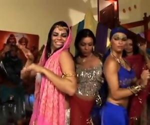 Real Hindu Indian Dancing Girl 3 Holes Stuffed