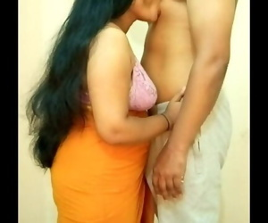 Big Boobs Indian Girl Sucking Boyfriends Nipple, Giving Hand Job, Boob Fuck