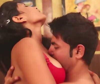 Hot desi shortfilm 222 - Aarti Rana boobs kissed, navel licked, smooches
