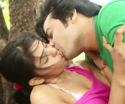Hot desi shortfilm 45 - Tongue kiss, boob lick, navel lick, many smooches