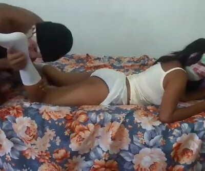 Teen Girl after School,the Brother Fuck Stepsister ස්කෝලෙ ගිහින් ආවා විතරයි