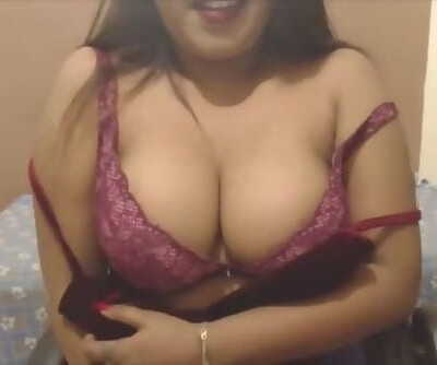 Hottest Desi CamSex Talking Dirty in Quarantine Lockdown Big Tits Wet Pussy