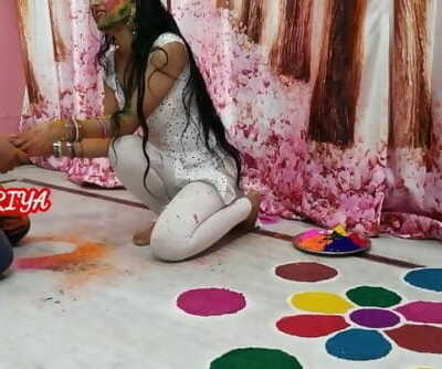 Holi Special - Fuck Hard Priya in Holi Occasion with Hindi Roleplay - YOUR PRIYA