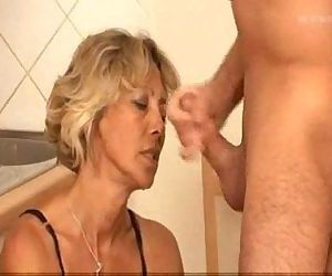 Mature Blonde Anal