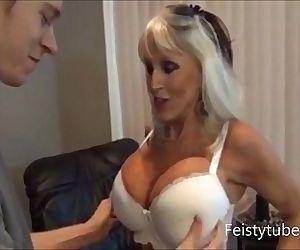 mother milks sons cock -feistytube.com