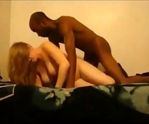Cheating blonde wife interracial - 9 min