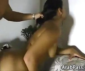 Sexy Arabic Mother Giving A Blowjob - 10 min