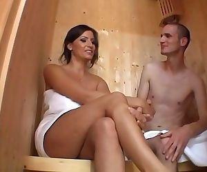 Big tits stepmom makes a guy dreams come truewatch more on sexchat.tf 14 min HD