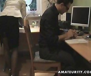 Amateur Milf sucks and fucks at home with cumshot 13 min