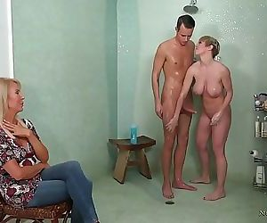 My stepmom and her old friend want my dick!Erica Lauren and Dee Williams 6 min HD