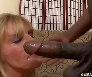 American housewife goes interracial 20 min