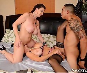 Charlee Chase & Sara Jay Hot ThreesomeFapp.me/2chicks