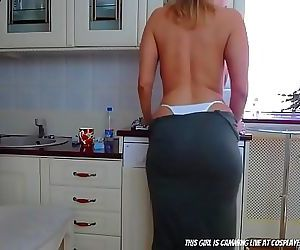 I Cant Stop Looking At My Step Mother.... 27 min HD