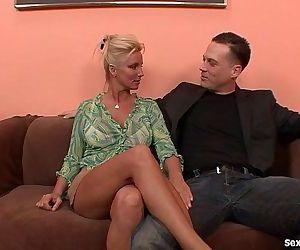Horny Blonde MILF Cant Get Enough DickHD