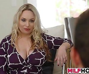 Huge Tits Stepmom Shows Them Everything 8 min HD