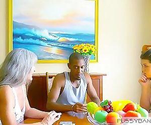 Seducing my Mom Boy Friend 12 min HD