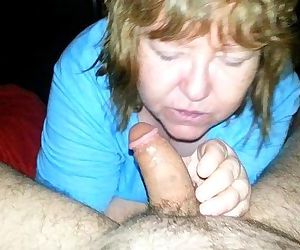 mom swallows every drop of real sons cum - 1 min 42 sec
