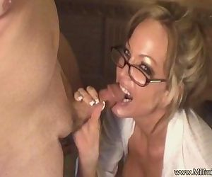 Bad MILF Secretary Cannot Fire
