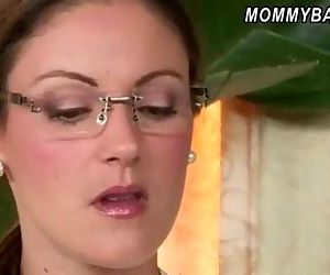 Strict stepmom Samantha Ryan caught Ava Hardy having sex