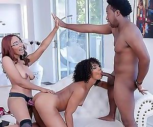 FILTHY FAMILYMisty Stone, Jenna Foxx, Xavier Miller, and Jack Blake Keep It In The Family 3 min HD
