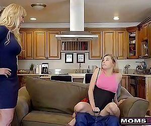 MomsTeachSexBigTit Aunt Brandi Love Helps Teens Fuck S8:E8 12 min HD
