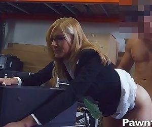 Hot Milf Banged at the Pawn Shop