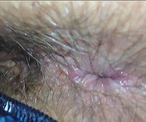 Wife Shit Stained Hairy Arsehole Inspection - 3 min