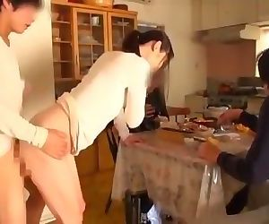 Beautiful step mom takes care of sexual needs of 15 sons and relatives