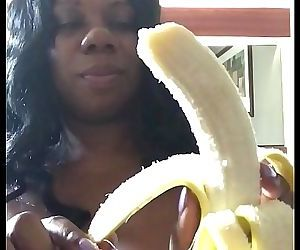DickSucking a Banana with SEXFEENE 4 min HD+