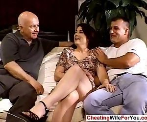 Mature wife gangbanged by bbc - 8 min