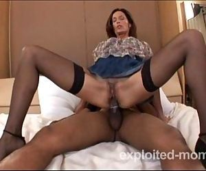 hot amateur milf banging black cock