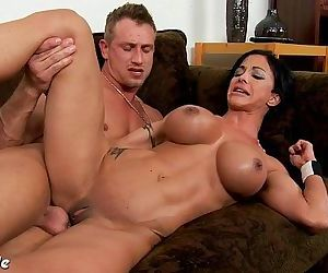 Chesty brunette Jewels Jade gets ass fuckedHD