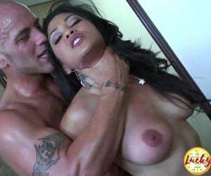 Gorgeous interracial big titted asian MILF secretary fucked hard on the desk - 14 min HD