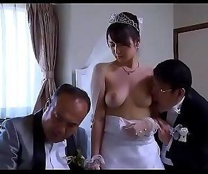 Asian Milf wife get stripped clothes by boss in front of her husbandReMilf.com 14 min