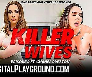 Digitalplayground - Lesbian milfs Chanel Preston & Kaylani Lei lick pussy