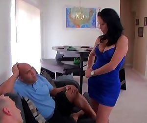 Two loads for escort Daughter 26 min HD+