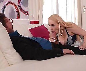 Anal loving Hardcore hottie Angel Wickys busty titty fuck audition 12 min 1080p