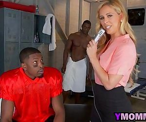 Cherri Deville Milf Threesome Fucking Interracial
