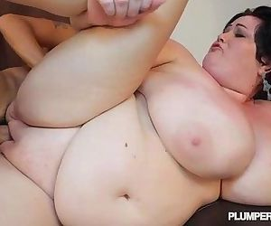 Huge Tit MILF BBW Is Oiled and Fucked by Pool - 2 min