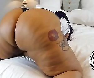 Thick Hard Firm Bbw Latina Donk Booty Twerking 6 min