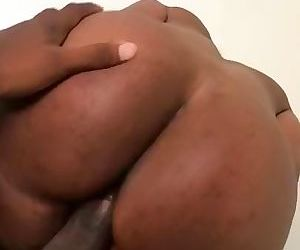 Big black butt from tinder